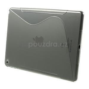 S-line gelový obal na iPad Air 2 - šedý - 3