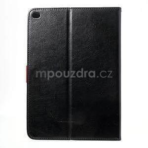 Daffi elegantní pouzdro na iPad Air 2 - černé - 3