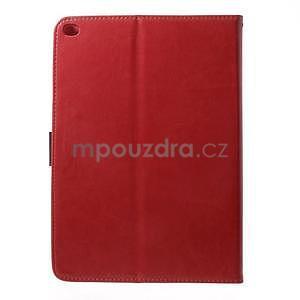 Daffi elegantní pouzdro na iPad Air 2 - červené - 3