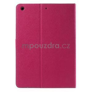 Diary peněženkové pouzdro na iPad Air - rose - 3