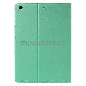 Diary peněženkové pouzdro na iPad Air - azurové - 3