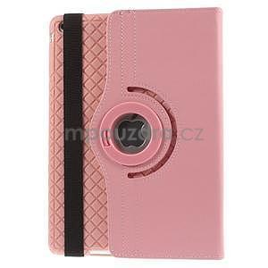 Circ otočné pouzdro na Apple iPad Air - růžové - 3
