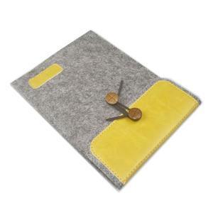 Envelope univerzální pouzdro na tablet 22 x 16 cm - žluté - 3
