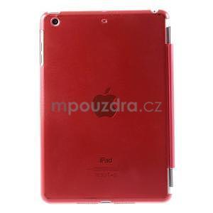 Classic tří polohové pouzdro na iPad Mini 3, ipad Mini 2 a na iPad Mini - červené - 3