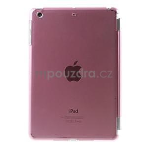Classic tří polohové pouzdro na iPad Mini 3, ipad Mini 2 a na iPad Mini - růžové - 3