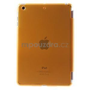 Classic tří polohové pouzdro na iPad Mini 3, ipad Mini 2 a na iPad Mini - oranžová - 3