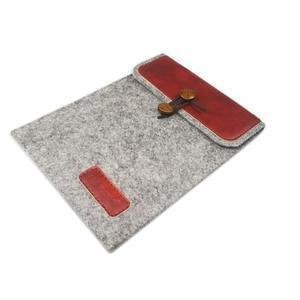 Envelope univerzální pouzdro na tablet 22 x 16 cm - červené - 3