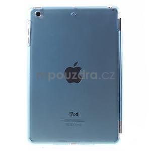 Classic tří polohové pouzdro na iPad Mini 3, ipad Mini 2 a na iPad Mini - modré - 3