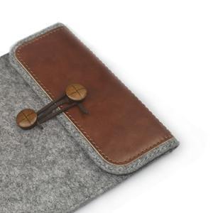 Envelope univerzální pouzdro na tablet 22 x 16 cm - hnědé - 3