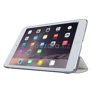 Lines polohovatelné pouzdro na iPad Mini 3 / iPad Mini 2 / iPad mini - bílé - 3