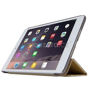 Lines polohovatelné pouzdro na iPad Mini 3 / iPad Mini 2 / iPad mini - champagne - 3