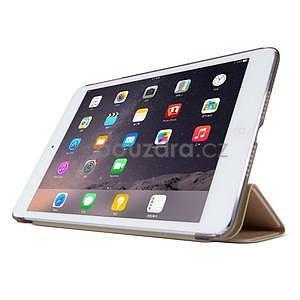 Lines polohovatelné pouzdro na iPad Mini 3 / iPad Mini 2 / iPad mini - rose gold - 3