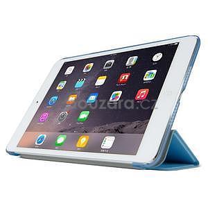 Lines polohovatelné pouzdro na iPad Mini 3 / iPad Mini 2 / iPad mini - modré - 3