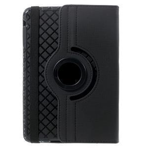Circu otočné pouzdro na Apple iPad Mini 3, iPad Mini 2 a ipad Mini - černé - 3