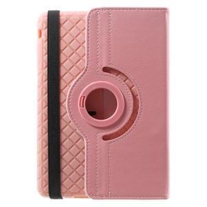 Circu otočné pouzdro na Apple iPad Mini 3, iPad Mini 2 a ipad Mini - růžové - 3