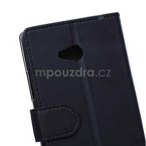 Ochranné peněženkové pouzdro Microsoft Lumia 640 - černé - 3