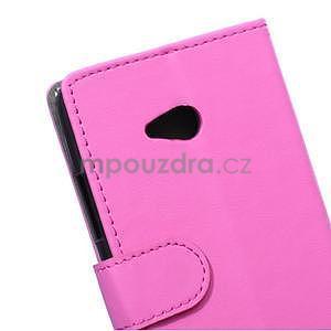 Ochranné peněženkové pouzdro Microsoft Lumia 640 - rose - 3
