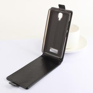 Flipové pouzdro na mobil Lenovo A2010 - hnědé - 3