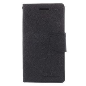 Mr. Fancy koženkové pouzdro na Samsung Galaxy A5 - černé - 3