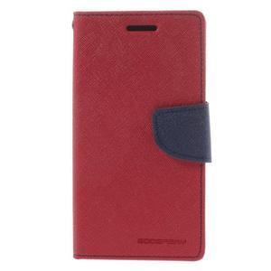 Mr. Fancy koženkové pouzdro na Samsung Galaxy A5 - červené - 3