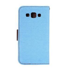 Jeans peněženkové pouzdro na Samsung Galaxy A5 - světlemodré - 3