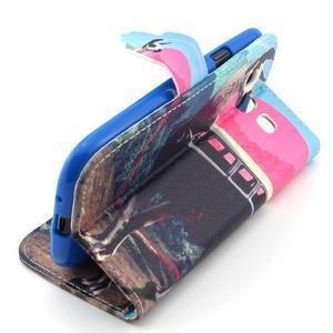 Peněženkové pouzdro na mobil Samsung Galaxy S3 - lama - 3
