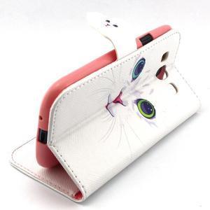 Peněženkové pouzdro na mobil Samsung Galaxy S3 - kočička - 3