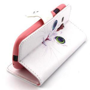 Fun peněženko pouzdro na Samsung Galaxy S3 mini - kočička - 3