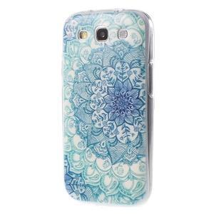 Ultratenký gelový obal na Samsung Galaxy S3 - lotus - 3