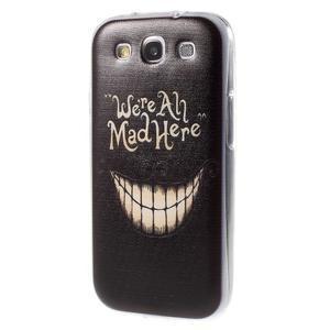 Ultratenký gelový obal na Samsung Galaxy S3 - smile - 3