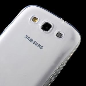 Ultratenký slim 0.6 mm obal na Samsung Galaxy S III / S3 - transparentní - 3