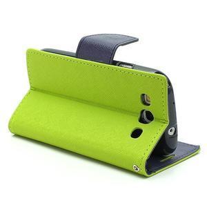 Mr. Fancy koženkové pouzdro na Samsung Galaxy S3 - zelené - 3