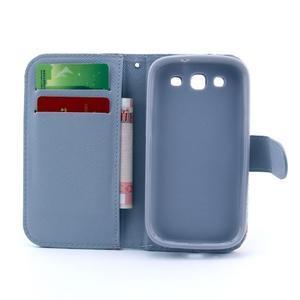 Peněženkové pouzdro na mobil Samsung Galaxy S III - opičák - 3