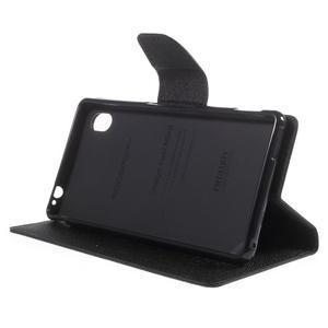 Ochranné pouzdro na Sony Xperia M4 Aqua - černé - 3