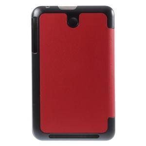 Supreme polohovatelné pouzdro na tablet Asus Memo Pad 7 ME176C - červené - 3