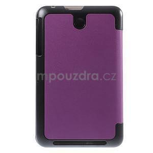 Supreme polohovatelné pouzdro na tablet Asus Memo Pad 7 ME176C - fialové - 3