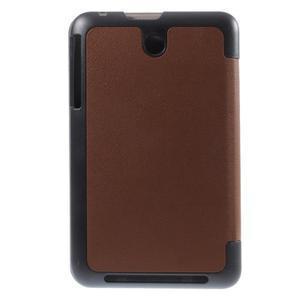 Supreme polohovatelné pouzdro na tablet Asus Memo Pad 7 ME176C - hnědé - 3