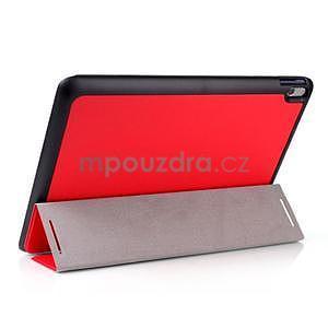 Troj-polohové pouzdro na table Lenovo IdeaTabl A10-70 - červené - 3