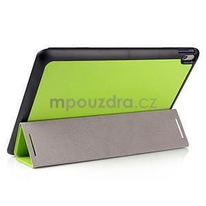 Troj-polohové pouzdro na table Lenovo IdeaTabl A10-70 - zelené - 3