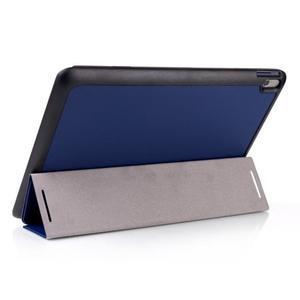 Troj-polohové pouzdro na table Lenovo IdeaTabl A10-70 - tmavě modré - 3