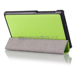 Polohovatelné pouzdro na tablet Lenovo Tab 2 A7-10 -  zelené - 3