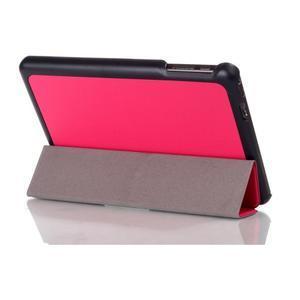 "Tří polohové pouzdro na tablet Lenovo IdeaTab Miix 3 8"" - rose - 3"
