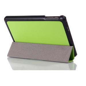 """Tří polohové pouzdro na tablet Lenovo IdeaTab Miix 3 8"""" - zelené - 3"""