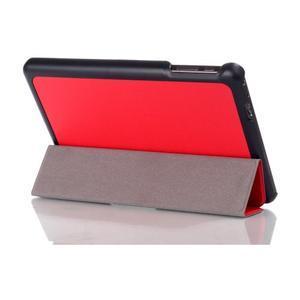 "Tří polohové pouzdro na tablet Lenovo IdeaTab Miix 3 8"" - červené - 3"