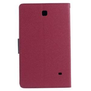 Rose peněženkové pouzdro Goospery na tablet Samsung Galaxy Tab 4 8.0 - 3