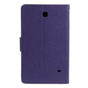 Fialové peněženkové pouzdro Goospery na tablet Samsung Galaxy Tab 4 8.0 - 3