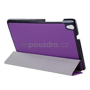 Fialové pouzdro na tablet Lenovo S8-50 s funkcí stojánku - 3