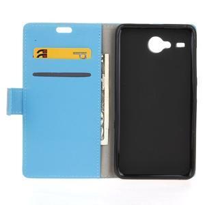 Gregory peněženkové pouzdro na Acer Liquid Z520 - modré - 3