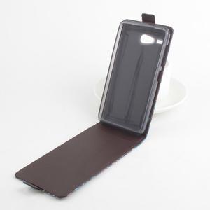 Flipové pouzdro na mobil Acer Liquid Z520 - záda dívky black - 3