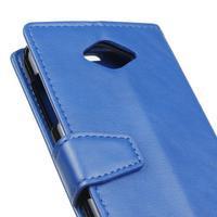 Pouzdro na mobil Acer Liquid Z530 - modré - 3/7
